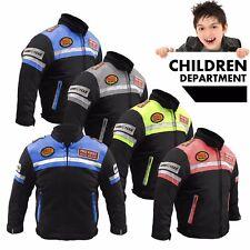 Profirst Vêtements de Moto Enfants Protecteurs Blouson Moto 6-14 Années Garçons