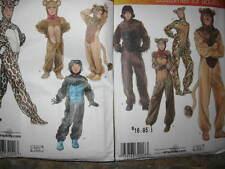 PATTERN Lion Bear Cheetah cat ADULT XS-XL & CHILD XS-L s2853 s2855 Costume