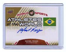 2010 WORLD OF SPORTS RAFAEL FEIJAO AUTOGRAPH AUTO, MMA
