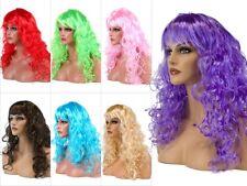 Perruque synthétique longues Accessoire idéal pour déguisement femme fille soiré