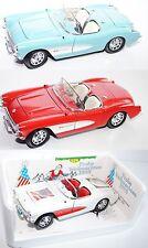Bburago 3024 Chevrolet Corvette (1957), mit Lenkung, 1:18