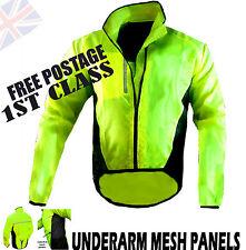 Veste vélo hautement visibilité / Hi Viz imperméable et respirante exécutant équitation!!