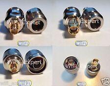 1 x SMA Male / Female To N Male / Female Jack Plug COAX RF Connector Adapter USA
