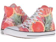 Converse Bright Colorful Tropical Citrus Grapefruit High Top Shoes Unisex NEW
