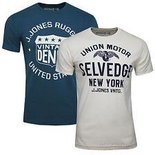 JACK & JONES VINTAGE T-SHIRT SELVEDGE TEE Gr.S,M,L,XL,XXL  UVP 14,95€