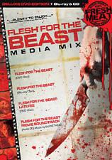 Flesh for the Beast: Media Mix (Blu-ray/DVD, 2010, 4-Disc Set)
