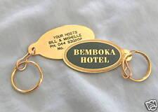 BEMBOKA HOTEL  METAL  KEYRING - NUMBERED