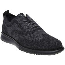 New Mens Cole Haan Black 2.Zerogrand Stitchlite Textile Shoes Brogue Lace Up