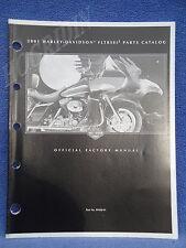 2001 Harley touring road glide screamin eagle II fltrseI2 parts catalog 99428-01
