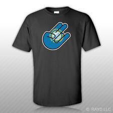 South Dakota Shocker T-Shirt Tee Shirt Free Sticker south dakotan SD
