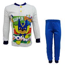 pigiama bambino lungo in cotone jersey PAW PATROL nickelodeon art. PA16007