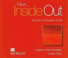 Macmillan NEW INSIDE OUT Upper-Intermediate Class CD's (x3)| Kay, Jones @NEW@