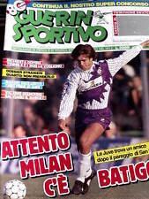 Guerin Sportivo 7 1992 Batistuta Fiorentina - Roberto Baggio i miei primi 25 ann