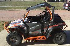 Polaris RZR 800 graphics with Pro Armor Doors  24 mil thick racing vinyl #5600OR