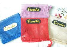 SANSHA ballet dance pointe or soft shoe mesh bag - New