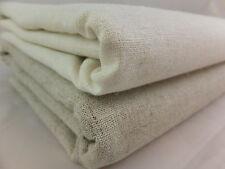 Pure 100% Linen and 55% Linen-Cotton Natural Flax Fabric Zakka per metre