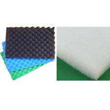 Peces Estanque Filtro 3 Paquete de esponja espuma O 1x algodón hidrófilo