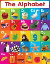 190780 My ABC Alphabet Learn table Wall Print Poster CA