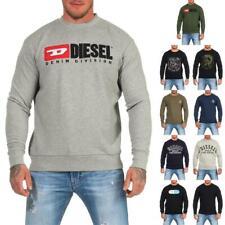 DIESEL Sweatshirt Herren Rundhals Pullover Crew Neck Sweater Pulli