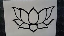 Lotus Flower Vinyl Sticker/Decal for Car Truck Window Laptop Meditation Relax