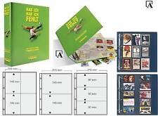 Fußball Sammelalbum System für Autogrammkarten Sammelkarten Sticker Panini u.a.
