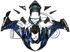 CARENE ABS SUZUKI GSX R 600/750 011/012 K11 DESIGN BLUE - BLACK STAMPO INIEZIONE