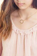 Open Circle Necklace, Karma Necklace, Everlasting Love Necklace, Minimalist
