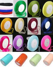 50 Yard Roll Sheer Organza Ribbon - 10mm Wide - Choose Colour - - UK Seller