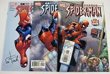 Peter Parker Spider-Man #53,#54,#55 All Signed:Wayne Faucher Marvel Comics 2003
