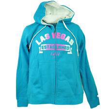 Las Vegas Nevada Established 1911 Zipper Hoodie Womens Blue Sin City Ladies