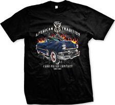 American Tradition Ford V8 Ford Motor Company 1907 Mens T-shirt
