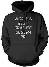 World's Best Graphic Designer - Art Gift Student Graphics Youth Unisex Hoodie