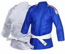 Adidas Judo Costume Enfants Gi J250 Ceinture Blanche Gratuite Garçon Filles