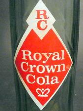 vintage ACL SODA BOTTLE - ROYAL CROWN - 16 OZ ACL POP BOTTLE