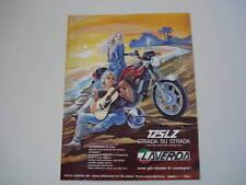 advertising Pubblicità 1978 MOTO LAVERDA 125 LZ