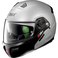 GREX G9.1 EVOLVE KINETIC FLAT SILVER FLIP FRONT MOTORCYCLE MOTORBIKE HELMET