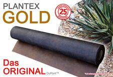 Plantex Gold Unkrautvlies Mulchvlies Original Rootbarrier DuPont ab 10 m² Rolle