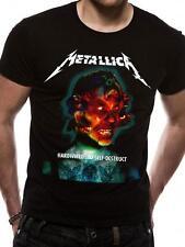 OFFICIAL LICENSED - Metallica - câblé ALBUM CACHE T SHIRT métal HETFIELD