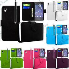 Housses Etui Coque Portefeuille Cuir PU Carte POUR Sony Xperia Z2 LTE D6543 6502