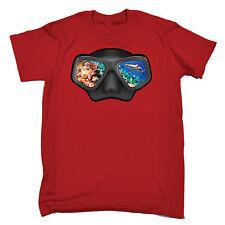Ocean View Occhiali acque aperte da Uomo T-Shirt Regalo Di Compleanno Divertente immersioni subacquee