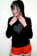 NEWTG American Apparel yoga hoodie love HEART shirt top
