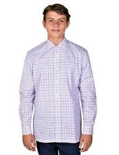 Hickey Freeman Mens Long Sleeve Button Down Shirt  Medium