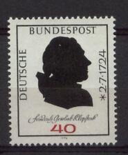 Germania OVEST 1974 SG # 1705 F. KLOPSTOCK MNH
