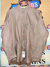 New Mens Chaps Long Sleeve Shirts Herringbone Twill $15.99 Free Shipping