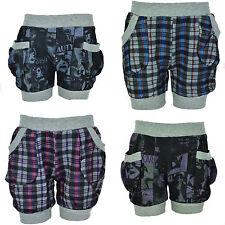 Mädchen Kinder Sommer Shorts Hot Pants kurze Pump Hose Bermuda NEU Gr. 98-128