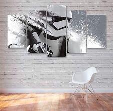 Star Wars Stormtrooper 5 panel de lienzo Arte, espacio, Pared Arte, Imagen, Impresión #029