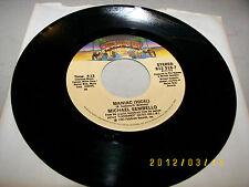 Michael Sembello Maniac (Vocal) / Maniac (Instrumental) 45 NM 812-516-7 1983