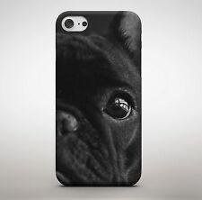 Cane BULLDOG FRANCESE Nero Carino Adorabile Cucciolo Animali Pet Shop Cellulare Case Cover