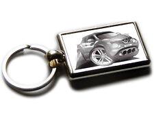 NISSAN JUKE Mini SUV Car Koolart Chrome Keyring Picture Both Sides