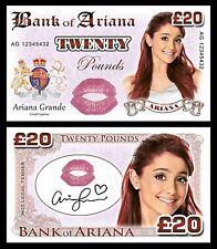 Ariana Grande Novelty Banknotes